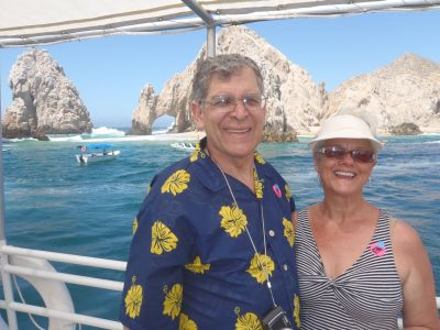 Michael and Janet Gray in Cabo San Lucas.
