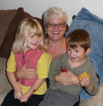 Janet Gray, Kara Siemer and Clive Baker