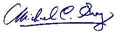 Michael Gray, CPA's signature