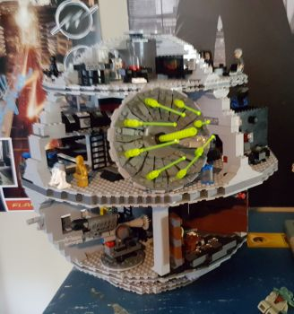 Clive Baker's Lego Death Star