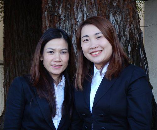 Giang Tran and Chi Nguyen
