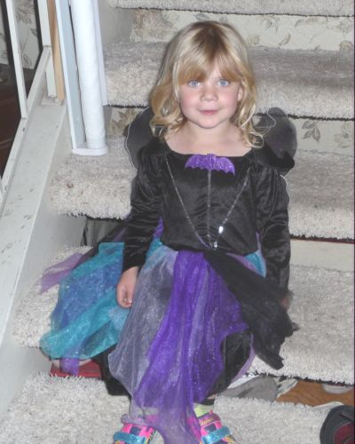 Kara Siemer dresses for Halloween.