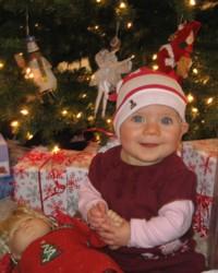 Kara Siemer's First Christmas