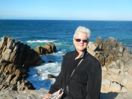 Janet Gray at Lover's Point in Pacific Grove.