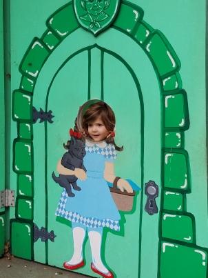 Minerva Siemer at Children's Fairyland in Oakland