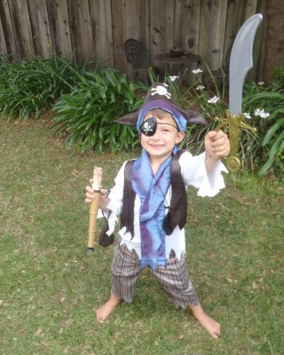 Arrrh! Clive Baker's latest passion is Pirates!