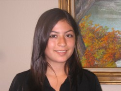 Sonia Monroy, our new student administrative assistant.