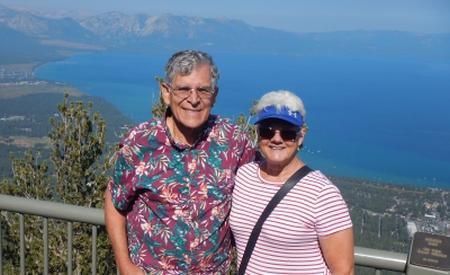 Janet and Michael at Lake Tahoe