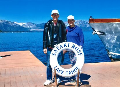 Mike and Janet at Lake Tahoe.